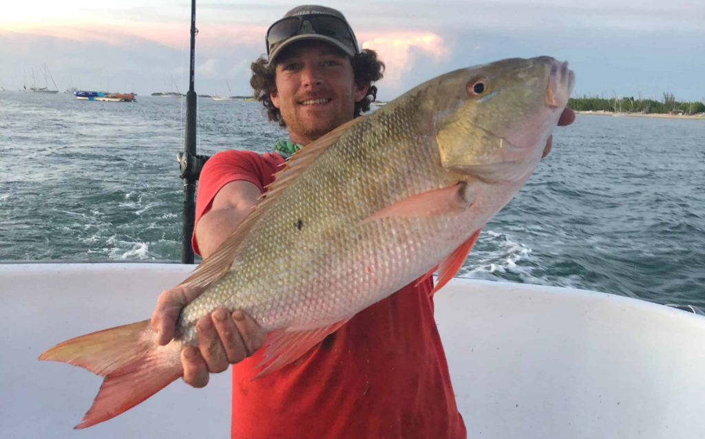 snapper caught party boat fishing key west